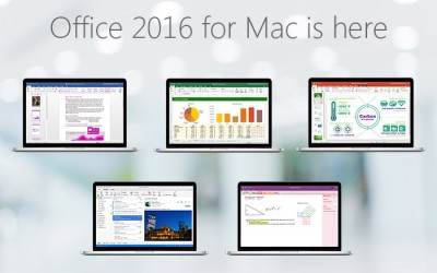 Office 2016 for Mac is here