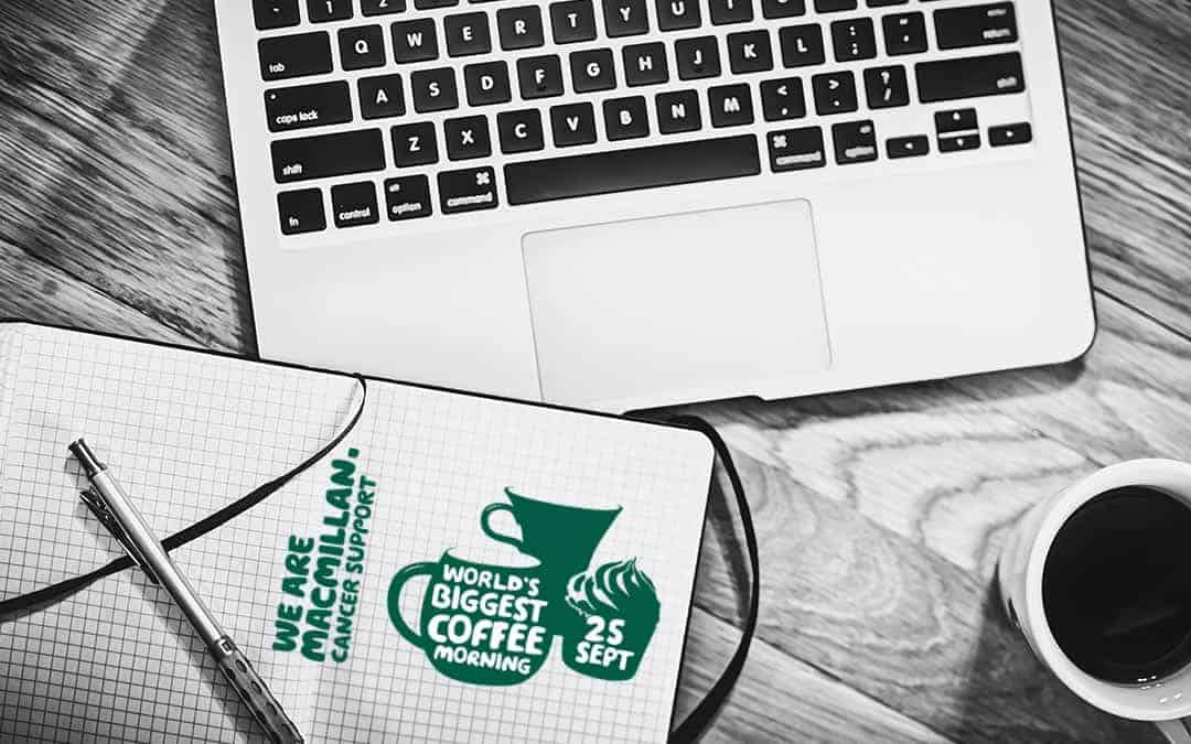 Urban Network Proud to support Macmillan Coffee Morning in aid of Macmillan Cancer Support