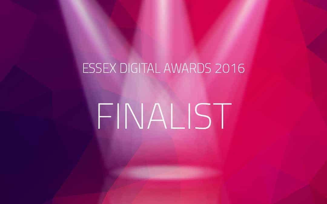 Urban Network finalist of 2016 Essex Dgital Awards