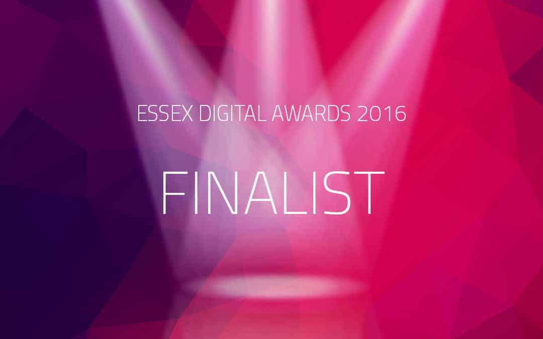 Urban Network finalist of 2016 Essex Dgital Awards