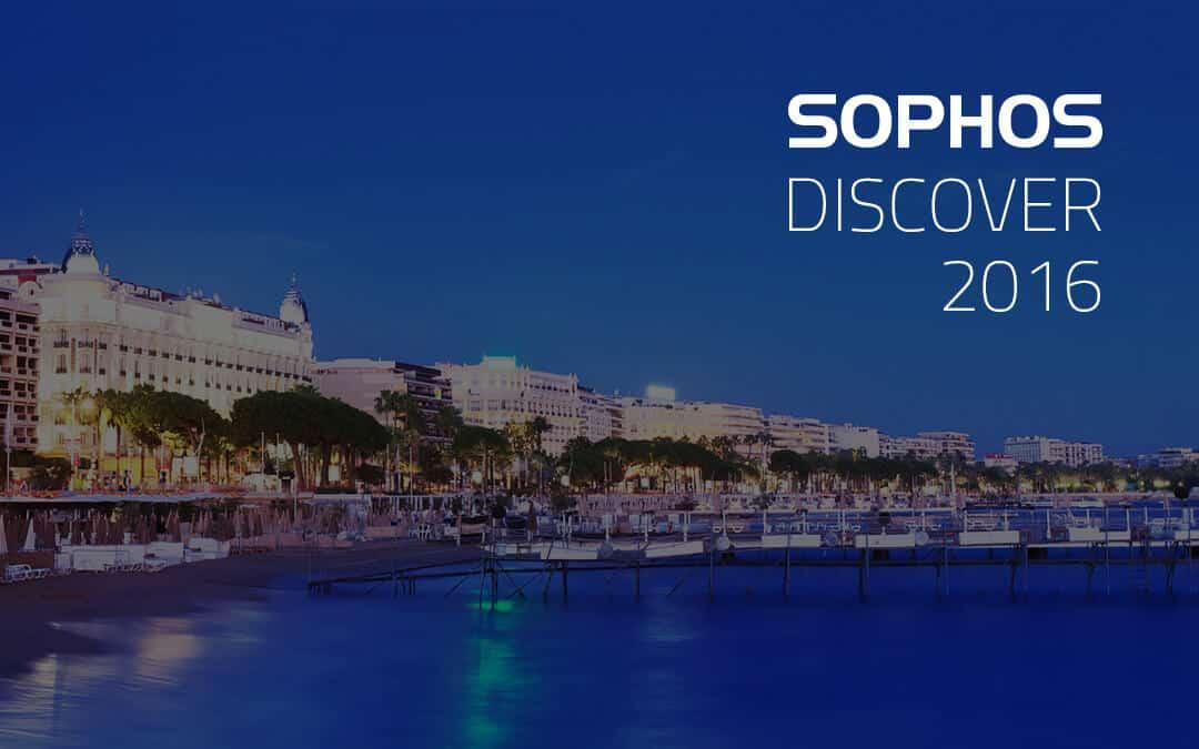 Sophos Discover 2016 Cannes Partner Conference