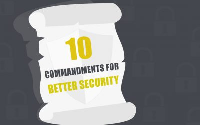 [Infographic] 10 steps for better cyber security
