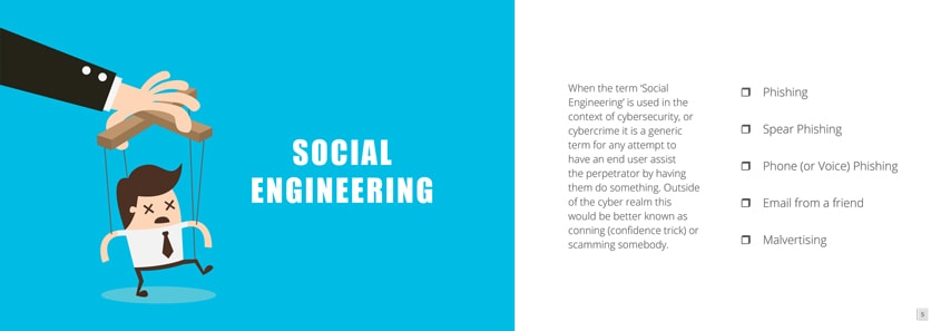 A Quick Guide to Today's Cyber Threats - Social Engineering