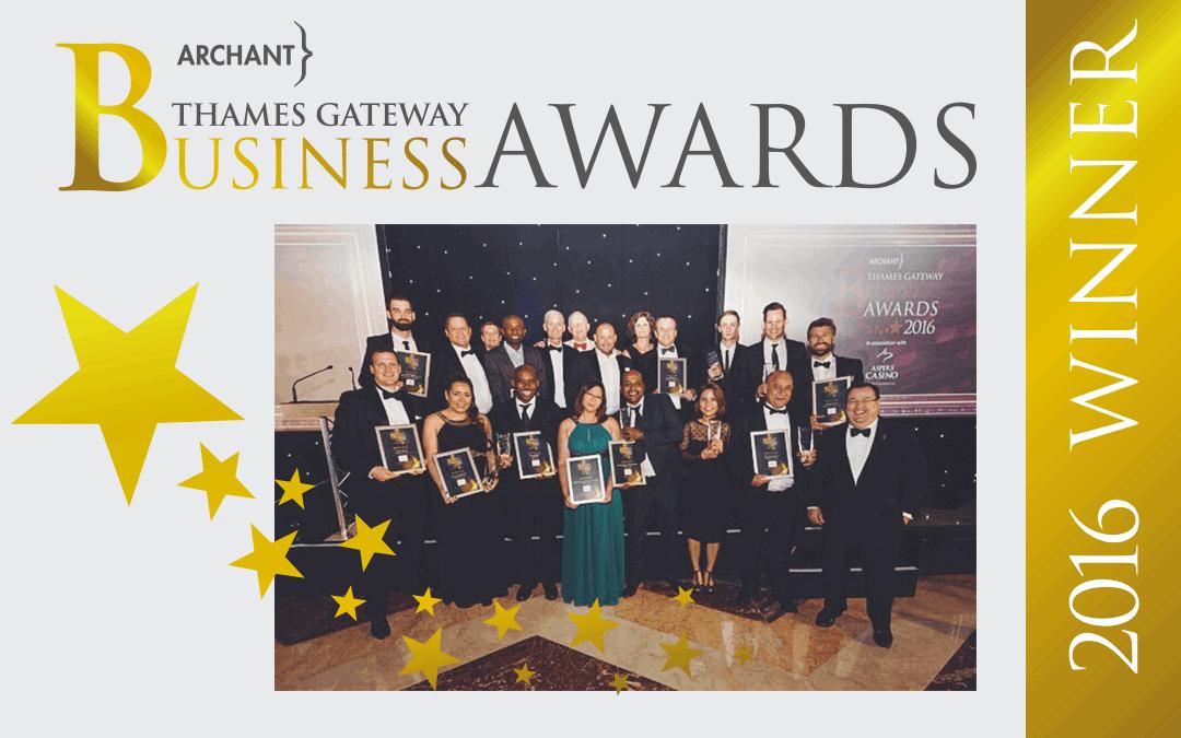 Urban Network selected as Customer Service Award winner at Thames Gateway Business Awards 2016