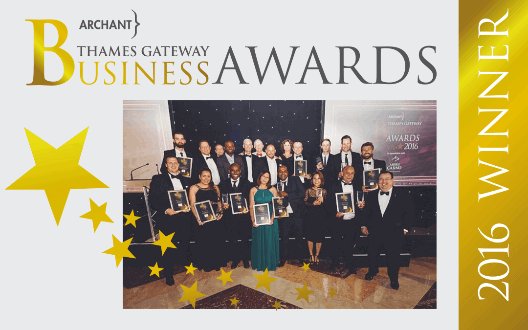 Urban Network selected as Customer Service Award winner at Thames Gateway Business Awards 2016