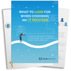 [Checklist] What to look for when choosing IT Provider © Urban Network Preview