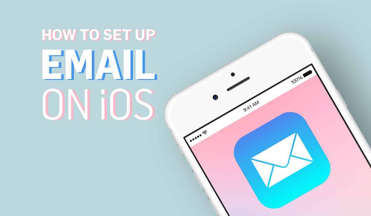 How to set up email account iOS automatically and manually