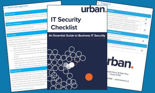 IT Security Checklist.