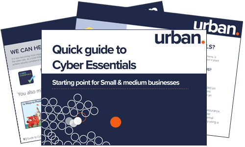 Quick guide to Cyber Essentials.